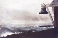 Ураган в море