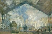 Клод Моне. Вокзал Сен-Лазар