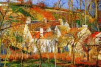Камиль Писсарро. Красные крыши