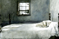 Эндрю Уайет. Хозяйская спальня
