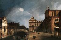 Джованни Антонио Каналь (Каналетто). Пасмурное небо