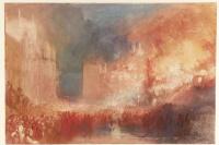 Джозеф Мэллорд Уильям Тёрнер. Пожар в здании парламента