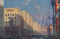 Москва, ул. Горького. 1947