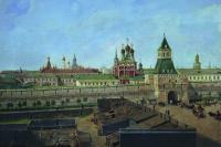 The ilyinskie Vorota in Moscow