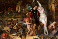 The return from war: Venus disarms Mars