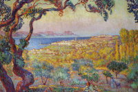 Henri Lebasque. In the Gulf of Saint-Tropez