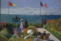 Terrace at Sainte-Adresse