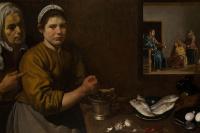 Диего Веласкес. Христос в доме Марии и Марфы