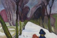 Эдвард Мунк. Первый снег