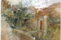 Карл Ларссон. Городской пейзаж