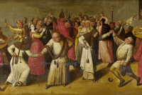 Battle of Carnival and Lent. Based on the Hieronymus Bosch