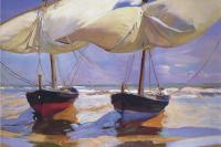 Хоакин Соролья (Соройя). Лодки на берегу