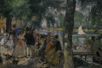 Bathing on the Seine, La Grenouillère