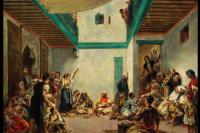 Jewish wedding in Morocco (a copy of Delacroix)