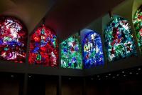 Марк Захарович Шагал. Витраж синагоги медицинского центра Хадасса в Иерусалиме