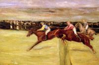Макс Либерман. Конные скачки