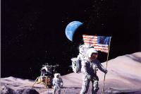 Первая лунная посадка