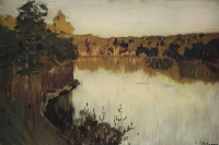 Исаак Ильич Левитан. Лесное озеро