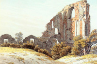 Caspar David Friedrich. Ruins