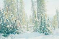 Снежные ёлки
