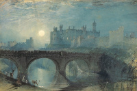 Joseph Mallord William Turner. Alnwick Castle, Northumberland