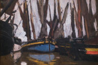 Рыбацкие лодки, Онфлёр