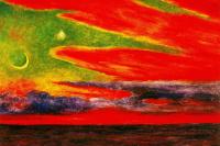 Diego Maria Rivera. Evening twilight at Acapulco