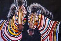 Кристина Виверс. Разноцветные зебры N6