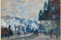 Вокзал Сен-Лазар. Вид снаружи