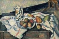 Поль Сезанн. Персики и груши