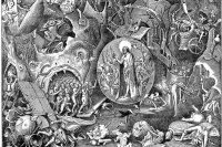 """Питер Брейгель Старший. Серия """"Семь добродетелей"""". Христос в Лимбе"""