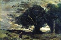 Камиль Коро. Порыв ветра