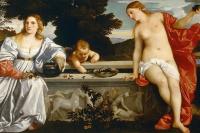 Тициан Вечеллио. Любовь небесная и любовь земная