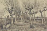 Винсент Ван Гог. Подстриженные берёзы