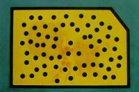 Коррелограмма со случайным расположением точек. Золотое Руно