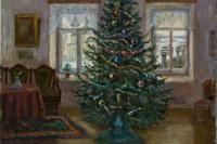 Christmas tree in Darovsky