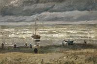 A view of the sea at Scheveningen