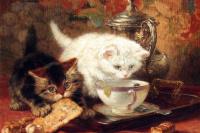 Чарльз Бертон Барбер. Котята