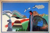 Дэвид Хокни. Скалистые горы и уставшие индейцы