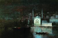Иван Константинович Айвазовский. Ночной Константинополь