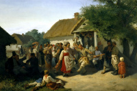 The round dance in Kursk province