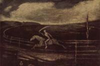 Алберт Пинкем Райдер. Ипподром, или Всадник на бледном коне