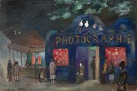 Роберт Рафаилович Фальк. Foire. Фотография. Ночной Париж
