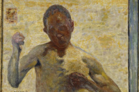 The boxer (self portrait)