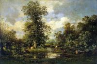 Жюль Дюпре. Лесной пейзаж