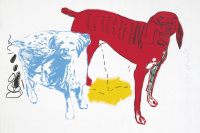 Untitled (Two dogs)