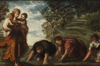 Latona and Lycian peasants
