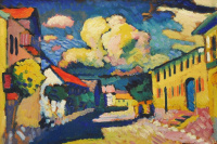 Murnau. A Village Street