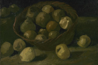 Винсент Ван Гог. Корзина яблок