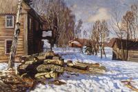 March (Aspen firewood II)